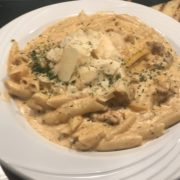 Gulf Shores Blackened Chicken Alfredo