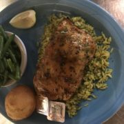 Gulf Shores Honey Barbecue Salmon