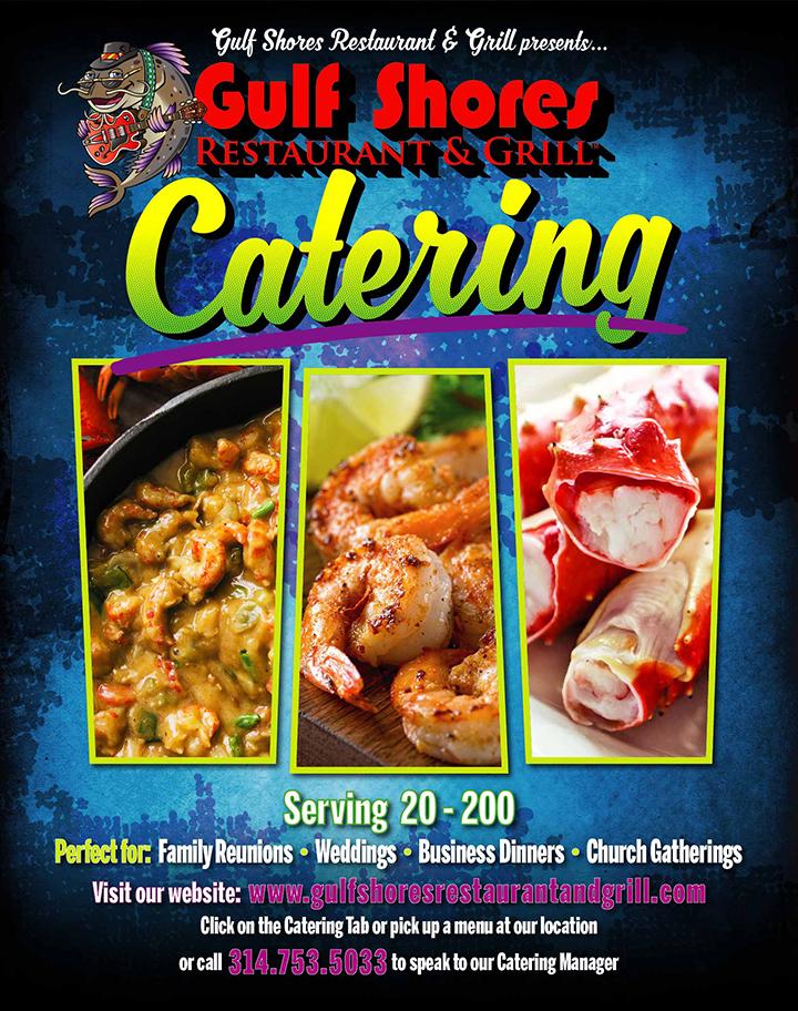 Gulf Shores Cajun Catering Edwardsville IL